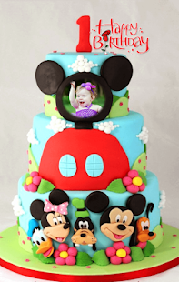 Birthday Cake Photo Frames- screenshot thumbnail