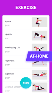 Weight Loss Coach - Lose Weight Fitness & Workout Screenshot