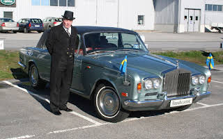 Rolls-Royce Silver Shadow Saloon Rent Västra Götaland