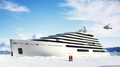 Crystal Endeavor: The first luxury expedition yacht to restart cruising in the Arctic and Northern Europe