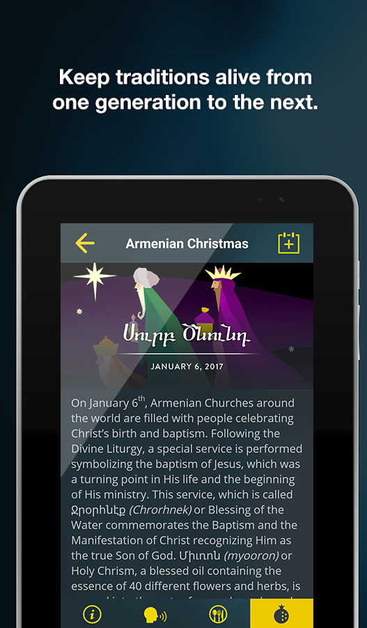 Armenian Holidays & Traditions- screenshot