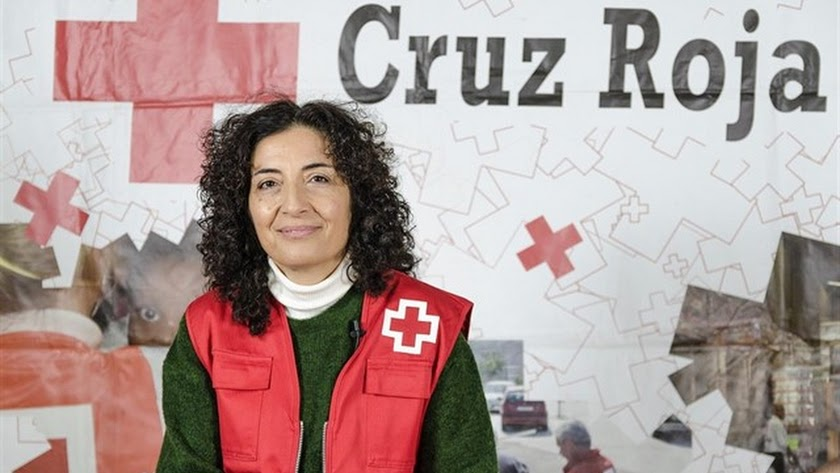 María del Mar Pageo, vicepresidenta nacional de Cruz Roja.