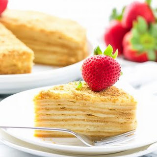 "Honey Layer Cake ""Medovik"""