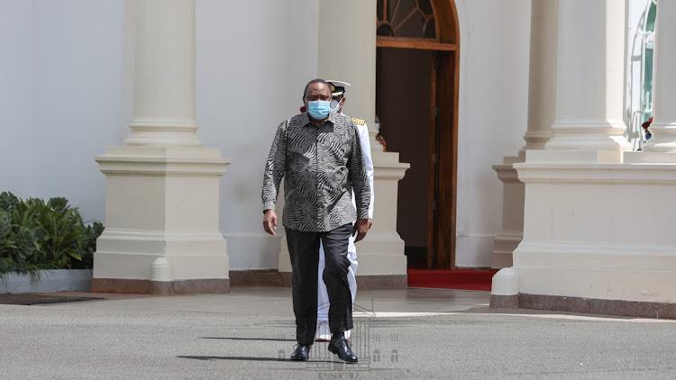 President Uhuru Kenyatta./PSCU