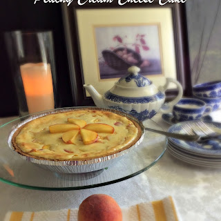 Peachy Cream Cheese Cake.
