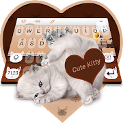 App Cute Kitty Tom Keyboard apk for kindle fire