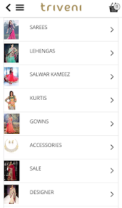 Triveni Ethnics Shopping App screenshot 3