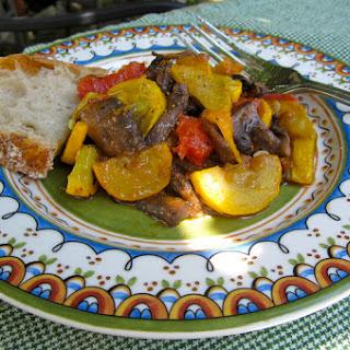 Italian Style Zucchini and Mushrooms.