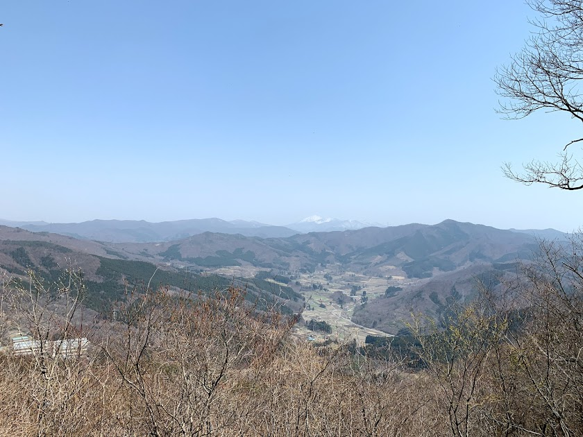 山頂から見た風景1
