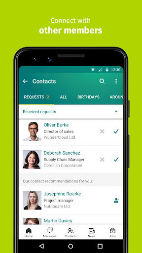 XING – Your jobs and careers network  screenshots 5