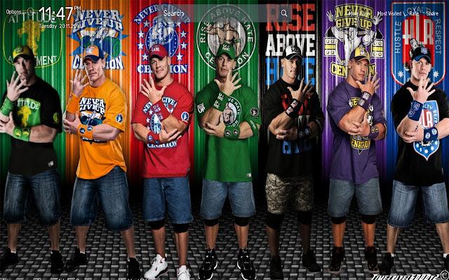 John Cena Wallpapers NewTab Theme