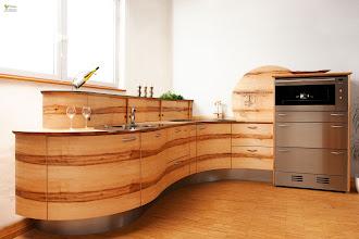 Photo: Küche mit runden Fronten Modell welle