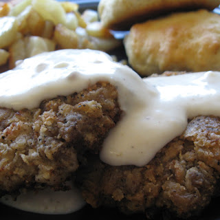 Chicken Fried Deer Steak with Gravy
