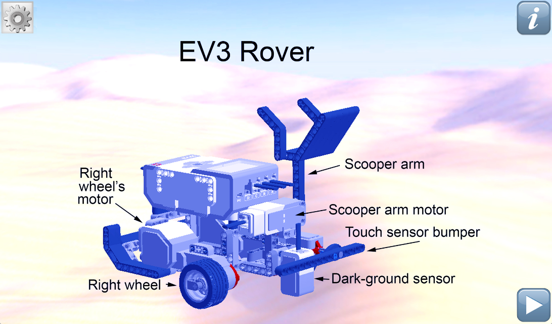 Fix EV3 Rover- screenshot