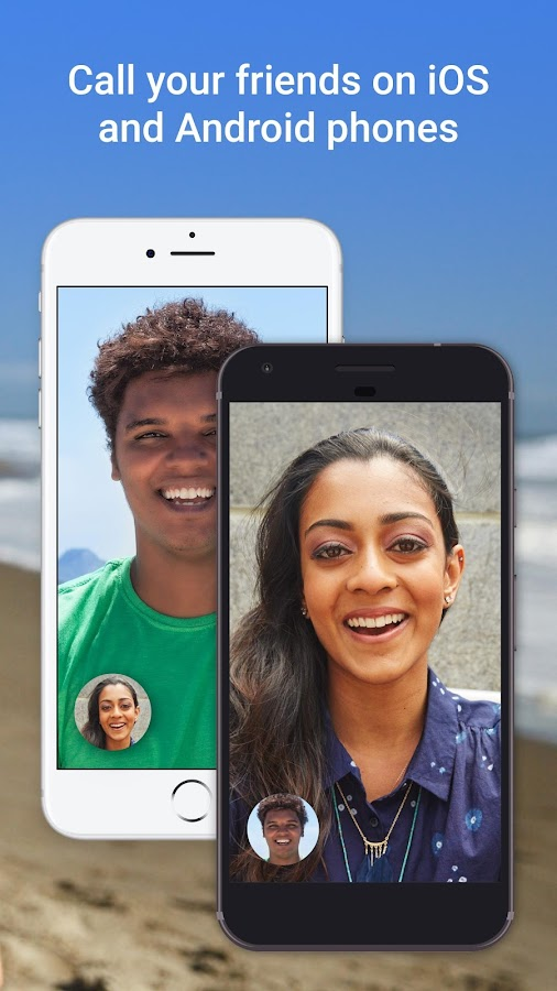 Google Duo- screenshot