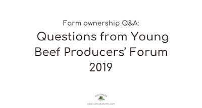 Farm Ownership Q and A: Questions from Young Beef Producers' Forum
