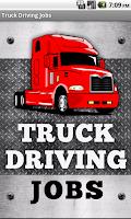 Screenshot of Truck Driving Jobs
