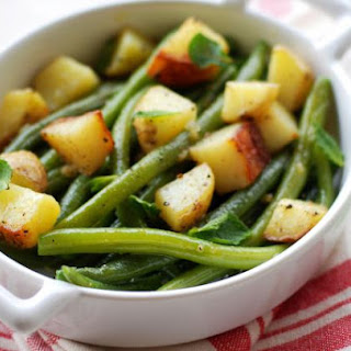 Warm Potato Salad With Green Beans
