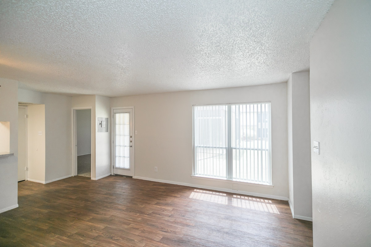 The oak a floorplan 1 bed 1 bath the arbors of - 1 bedroom apartments in arlington tx ...