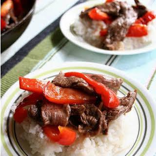 Pepper Steak.