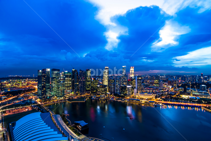 A Singapore Strait and more by Robertho Ponomban - Landscapes Travel ( cityscape, landscape, singapore, city )