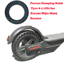 Upgraded Xiaomi Mijia M365 Solid Tire Hollow Non-Pneumatic Tyre Shock Absorber Anti-slip Durable Rubber Tyre Wheels For Scooter(China)
