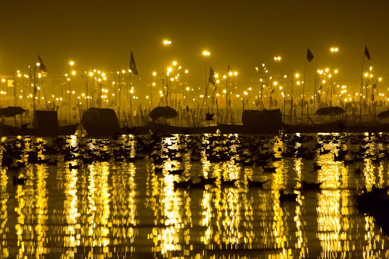 notte sul Gange di fotograficamente