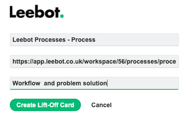 Leebot for Chrome | Save it to Leebot