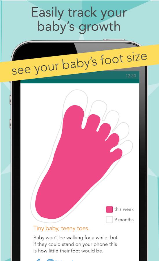 ovia pregnancy tracker  u0026 baby countdown calendar