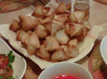 Crab Rangoons - Chicken Vanco's