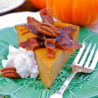 Protein Pumpkin Pie. Low carb and gluten free.