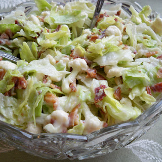 Cauliflower Lettuce Salad.