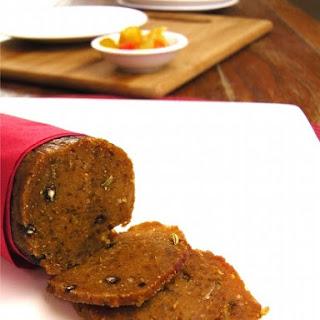 Vegan Salami, Using Tapioca Pearls.