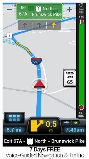 CoPilot GPS – 车载导航 离线地图和路况