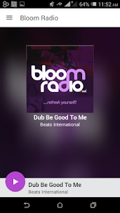 Bloom Radio Screenshot
