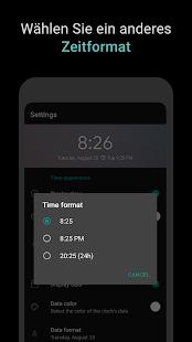 Widget Digitaluhr Screenshot