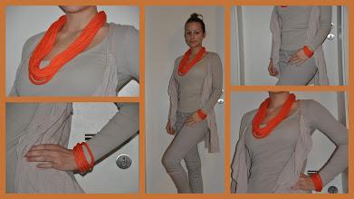Photo: Schönes Set in orange