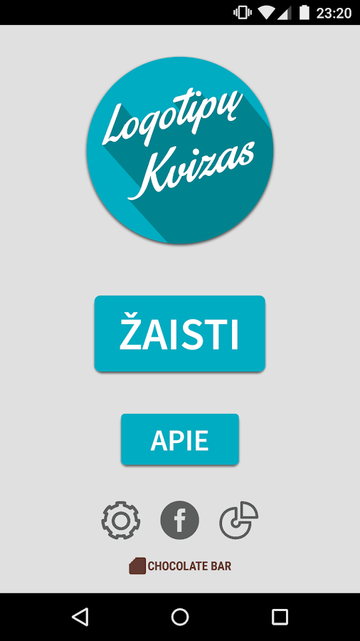Logotipų Kvizas- screenshot