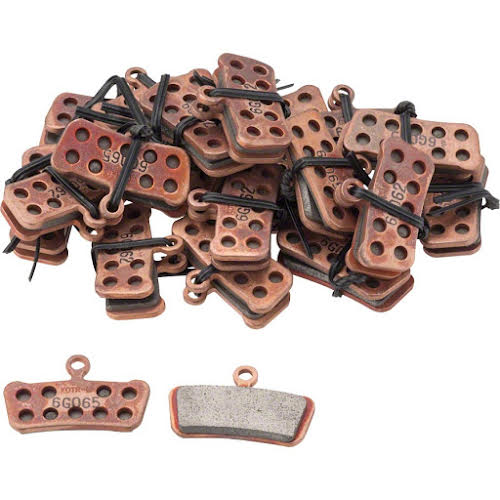 SRAM Guide/Trail Sintered Pads with Steel Back, 20 Pair
