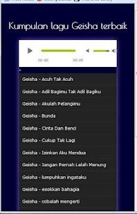 Lagu geisha mp3 - náhled