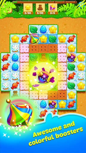 Easter Sweeper - Chocolate Bunny Match 3 Pop Games 2.1.1 screenshots 2