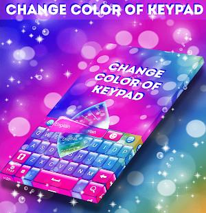 Změna barvy klávesnice 2018 - náhled