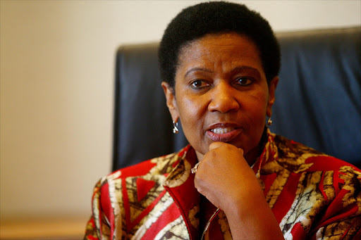 South Africa's former deputy president Phumzile Mlambo-Ngcuka Sowetan in Sandton.