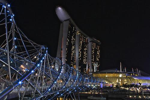Helix Bridge by Kai Jian - Buildings & Architecture Bridges & Suspended Structures