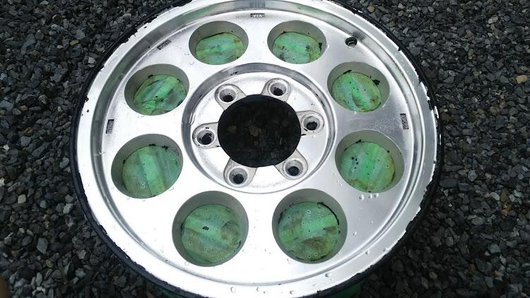 ハイエース TRH112Vのハイエース100系,タイサン,ホイール,塗装剥離,スケルトンに関するカスタム&メンテナンスの投稿画像6枚目