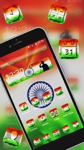 Elegant Indian Flag Launcher - náhled