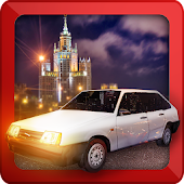 Russian Lada Vaz Moscow
