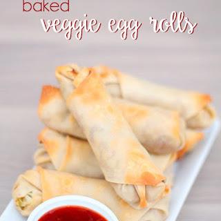 Baked Veggie Egg Rolls