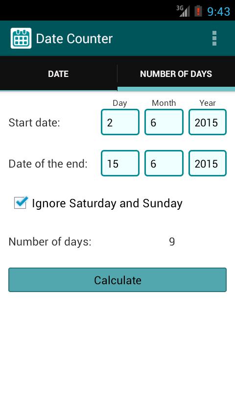 Download aplikasi Time Date Counter -nya melalui link yang ...