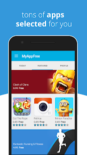myAppFree - Free Apps Everyday- screenshot thumbnail